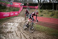 Ryan Kamp (NED/Pauwels Sauzen-Bingoal)<br /> <br /> 2021 UCI CX World Cup Overijse (BEL)<br /> Vlaamse Druivencross<br /> <br /> Men's Race<br /> <br /> ©kramon