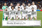 Real Madrid's team photo with Keylor Navas, Sergio Ramos, Toni Kroos, Alvaro Morata, Nacho Fernandez, Cristiano Ronaldo, Gareth Bale, Marcelo Vieira, Mateo Kovacic, Isco Alarcon and Daniel Carvajal during La Liga match. March 1,2017. (ALTERPHOTOS/Acero)