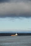 NTCL tug and barge Mackenzie River