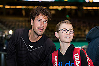 Rotterdam, Netherlands, 12 Februari, 2018, Ahoy, Tennis, ABNAMROWTT, Robin Haase (NED)<br /> Photo:tennisimages.com