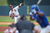 Florida State Seminoles relief pitcher Alec Byrd (31) in action against the Duke Blue Devils in the first semifinal of the 2017 ACC Baseball Championship at Louisville Slugger Field on May 27, 2017 in Louisville, Kentucky. The Seminoles defeated the Blue Devils 5-1. (Brian Westerholt/Four Seam Images)