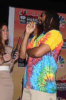 LOS ANGELES - MAY 1:  Lil Jon, who refused to pose in the press room until they brought the photographers champagne.  They did, he posed! at the 1st iHeartRadio Music Awards Press Room at Shrine Auditorium on May 1, 2014 in Los Angeles, CA