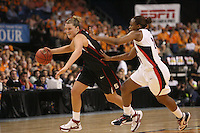 6 April 2008: Stanford Cardinal Jayne Appel during Stanford's 82-73 win against the Connecticut Huskies in the 2008 NCAA Division I Women's Basketball Final Four semifinal game at the St. Pete Times Forum Arena in Tampa Bay, FL.