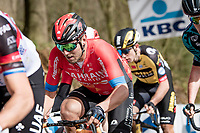 Sonny Colbrelli (ITA/Bahrain - Victorious)  up the Kemmelberg<br /> <br /> 83rd Gent-Wevelgem - in Flanders Fields (ME - 1.UWT)<br /> 1 day race from Ieper to Wevelgem (BEL): 254km<br /> <br /> ©kramon