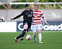 ::  ABERDEEN'S RYAN JACK AND HAMILTON'S DAVID HOPKIRK CHALLENGE FOR THE BALL  ::.25/04/2011  sct_jsp001_hamilton_v_aberdeen  .Copyright  Pic : James Stewart.James Stewart Photography 19 Carronlea Drive, Falkirk. FK2 8DN      Vat Reg No. 607 6932 25.Telephone      : +44 (0)1324 570291 .Mobile              : +44 (0)7721 416997.E-mail  :  jim@jspa.co.uk.If you require further information then contact Jim Stewart on any of the numbers above........