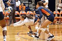 SAN ANTONIO, TX - SEPTEMBER 7, 2019: The University of Maryland Terrapins defeat the University of Texas at San Antonio Roadrunners 3-1 (19-25, 25-20, 25-22, 25-22) at the UTSA Convocation Center. (Photo by Jeff Huehn)