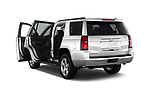 Rear three quarter door view of a 2017 Chevrolet Tahoe 2WD LT 5 Door SUV