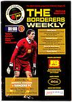 Official programme for Berwick Rangers v Rangers on 23rd February 2013