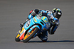 Alex Marquez (12) in action during the Red Bull MotoGP of the Americas practice session at Circuit of the Americas racetrack in Austin,Texas. ..