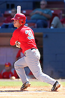 Ohio State Buckeyes Tim Wetzel #31 during a game vs. the Illinois State Redbirds at Chain of Lakes Park in Winter Haven, Florida;  March 11, 2011.  Illinois defeated Ohio State 12-1.  Photo By Mike Janes/Four Seam Images