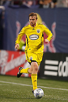 Columbus Crew midfielder Eddie Gaven (12). The New York Red Bulls defeated the Columbus Crew 2-0 during a Major League Soccer match at Giants Stadium in East Rutherford, NJ, on April 5, 2008.