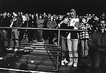 Man yawning, during an early SKY TV Monday night game. Boro 2 Oldham Athletic 3, 22nd March 1993. Photo by Paul Thompson