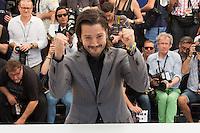 DIEGO LUNA - CANNES 2016 - PHOTOCALL DU FILM 'BLOOD FATHER'