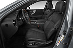 Front seat view of a 2018 Lexus LS 500h 4 Door Sedan front seat car photos