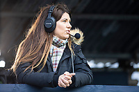 Bianca Westwood from Sky Sports Soccer Saturday during Southend United vs Exeter City, Sky Bet EFL League 2 Football at Roots Hall on 10th October 2020
