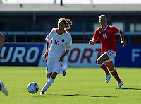 European Women's Under - 19 Championship 2011 Italy :.Switzerland - Belgium U19 : Tessa Wullaert.foto DAVID CATRY / VROUWENTEAM.BE