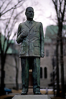 Charles de Gaulle statue in Quebec City