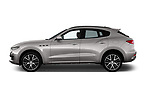 Car driver side profile view of a 2018 Maserati Levante Base 5 Door SUV