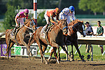Coil ridden by Martin Garcia edges out Preakness Stakes winner Shackleford to Win  the Haskell Invitational Stakes (Grade I) apart of the Breeders Cup  Classic Win and You're In  at  Monmouth Park Racetrack in Oceanport, NJ  on 7/31/11. (Ryan Lasek / Eclipse Sportwire)