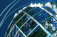 Close-up of Unisphere structure<br />