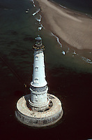 France/17/Charente-Maritime/Cordouan: Vue aérienne du phare de Cordouan