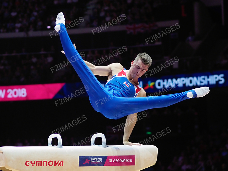 European Championships Glasgow 11th August 2018. Mens Team Finals