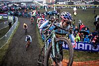 Wout van Aert (BEL)<br /> <br /> Men's Elite race<br /> UCI 2020 Cyclocross World Championships<br /> Dübendorf / Switzerland<br /> <br /> ©kramon