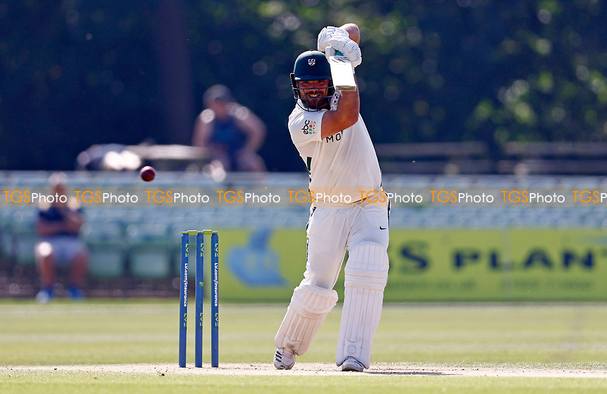 Joe Leach bats for Worcestershire during Kent CCC vs Worcestershire CCC, LV Insurance County Championship Division 3 Cricket at The Spitfire Ground on 7th September 2021