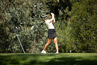 STANFORD, CA - APRIL 23: Amanda Linner at Stanford Golf Course on April 23, 2021 in Stanford, California.
