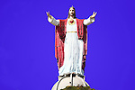 GIGANTIC STATUE of JESUS ATOP HILL (2)