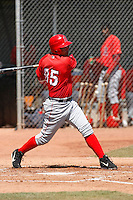 Abel Nieves - Los Angeles Angels - 2009 spring training.Photo by:  Bill Mitchell/Four Seam Images
