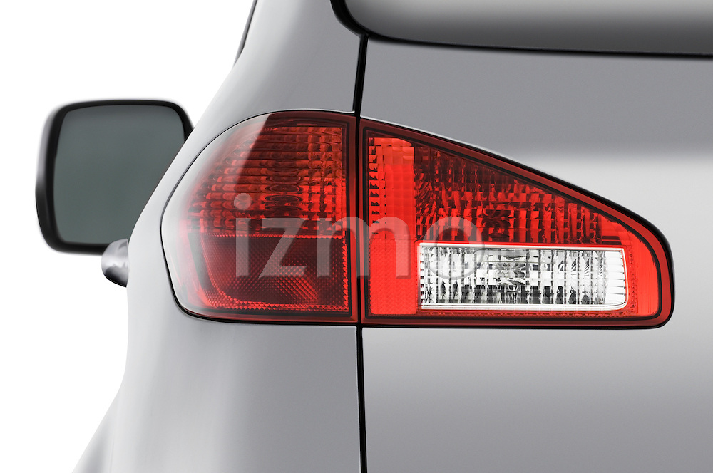 Tail light detail view of a 2008 Subaru Tribeca SUV