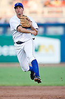 August 19,2010 Radames Nazario (16) during the MiLB game between the Midland RockHounds and the Tulsa Drillers at OneOk Field in Tulsa Oklahoma.