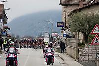 rolling peloton<br /> <br /> Stage 3 from Monticiano to Gualdo Tadino (219km)<br /> <br /> 56th Tirreno-Adriatico 2021 (2.UWT) <br /> <br /> ©kramon