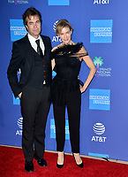 PALM SPRINGS03, 2020: Renee Zellweger & Rupert Goold at the 2020 Palm Springs International Film Festival Film Awards Gala.<br /> Picture: Paul Smith/Featureflash
