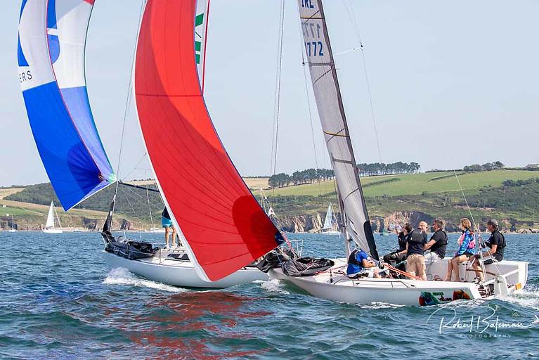 Sportsboat class racing in the 'At Home' Regatta Photo: Bob Bateman