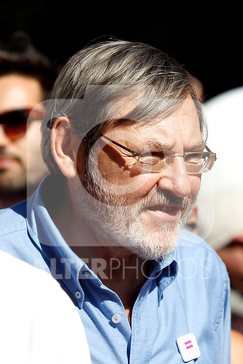 Jaime Lissavetzky at the Gay pride day.June, 30,2012.(ALTERPHOTOS/Alconada)