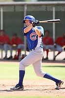 Dustin Geiger - Chicago Cubs - 2010 Instructional League.Photo by:  Bill Mitchell/Four Seam Images..