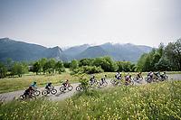 reaching the top of the final climb of the day: the Col de Baune<br /> <br /> Stage 6: Saint-Vulbas to Saint-Michel-de-Maurienne (228km)<br /> 71st Critérium du Dauphiné 2019 (2.UWT)<br /> <br /> ©kramon