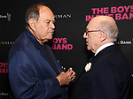Laurence Luckinbill and Mart Crowley attends the 'The Boys In The Band' 50th Anniversary Celebration at The Second Floor NYC on May 30, 2018 in New York City.