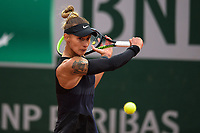 4th July 2021; Roland Garros, Paris France; French Open tennis championships day 6;  Polona Hercog ( SLO ) -