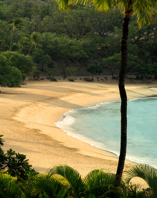 Beach at Four Seasons. Lanai, Hawaii.