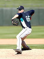 Shawn Kelley-  Seattle Mariners - 2009 spring training.Photo by:  Bill Mitchell/Four Seam Images