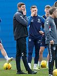 03.05.2019 Rangers training: Steven Gerrard