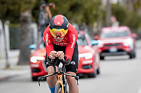 Mikel Landa (ESP/Bahrain - Victorious)<br /> <br /> Final stage 7 (ITT) from San Benedetto del Tronto to San Benedetto del Tronto (10.1km)<br /> <br /> 56th Tirreno-Adriatico 2021 (2.UWT) <br /> <br /> ©kramon