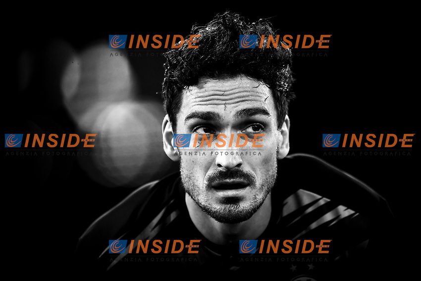 Mats Hummels of Borussia Dortmund during the warm up prior to the Champions League Group Stage F day 1 football match between SS Lazio and Borussia Dortmund at Olimpic stadium in Rome (Italy), October, 200 Italy, 2020. Photo Andrea Staccioli / Insidefoto