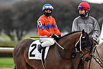 February 28, 2021: Another Broad #2 , ridden by Joel Rosario in the Bayakoa Stakes (Grade 3) for trainer Steven M. Asmussen at Oaklawn Park in Hot Springs,  Arkansas. Ted McClenning/Eclipse Sportswire/CSM