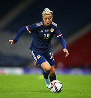 21st September 2021; Hampden Park, Glasgow, Scotland: FIFA Womens World Cup qualifying, Scotland versus Faroe Islands; Lana Clelland of Scotland