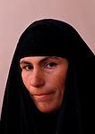 Marsh Arabs. Southern Iraq.  Marsh Arab woman. Baghdad, 1984