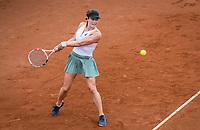 Amstelveen, Netherlands, 5  Juli, 2021, National Tennis Center, NTC, Amstelveen, Womans Open, Katerina Stewart (USA) <br /> Photo: Henk Koster/tennisimages.com